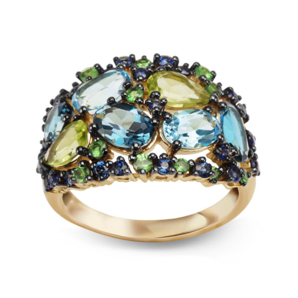 Złoty pierścionek pr. 585