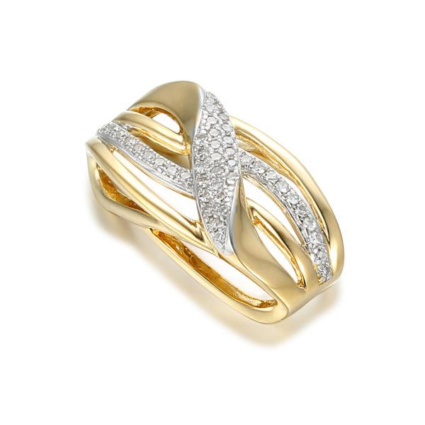 Pierścionek złote pr. 585