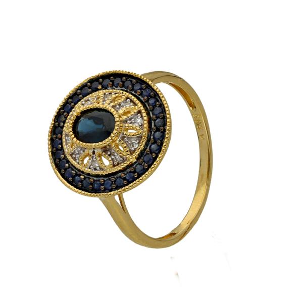 Pierścionek złoty pr. 585