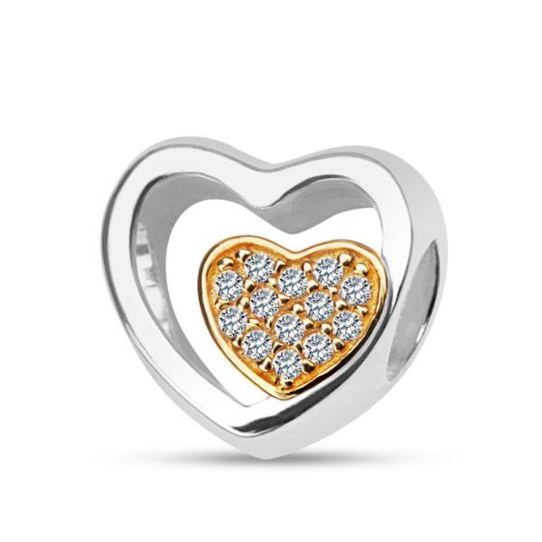Beads srebrny pr. 925