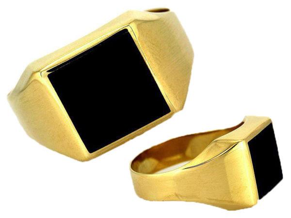 Sygnet złoty pr. 585