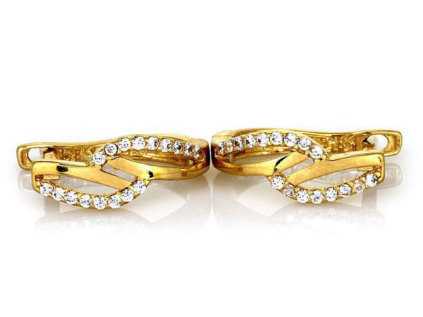 Kolczyki złote pr. 585