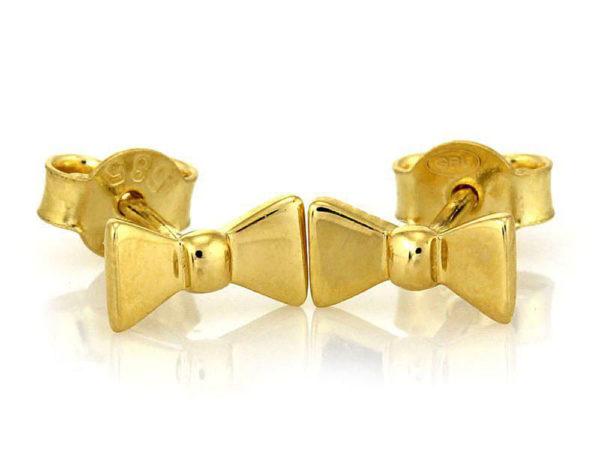 Kolczyki złote pr. 585.