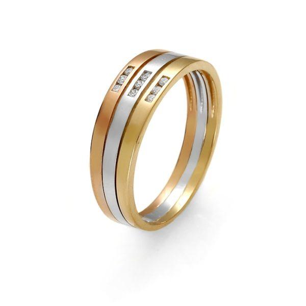 Obrączka złota pr. 585