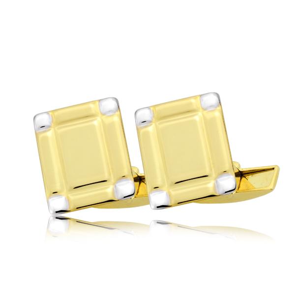 Spinki złote pr. 585