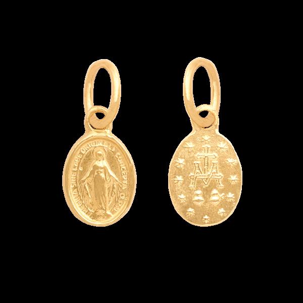 Złoty medalik pr. 585