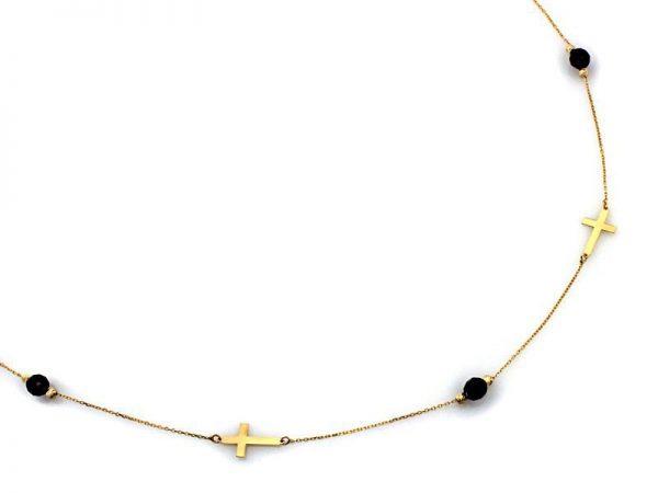 Naszyjnik złoty pr. 585