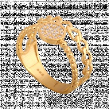 Pierścionek złoty pr.585