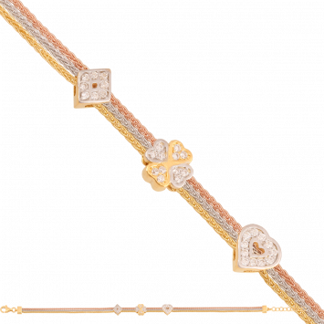 Bransoletka złoto pr.585