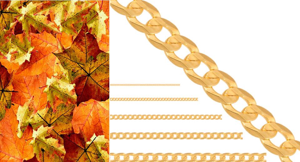 złoty łańcuszek pr.585