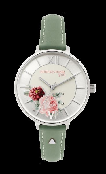 Zegarki Sunday Rose marki JWD. Kolekcja damska.