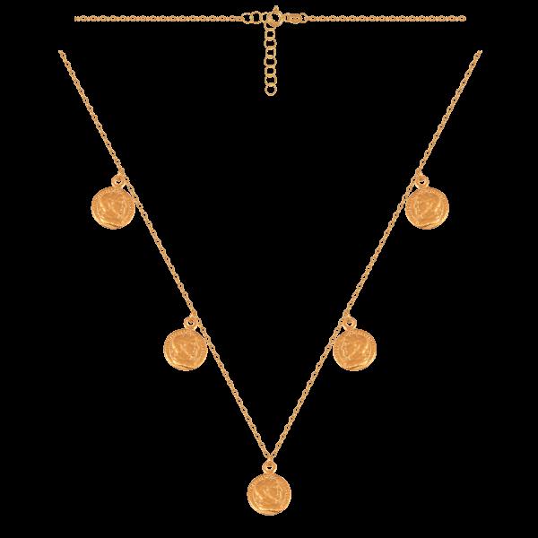 Naszyjnik złoty pr.585