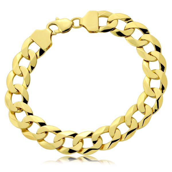 Bransoleta złota pr.585