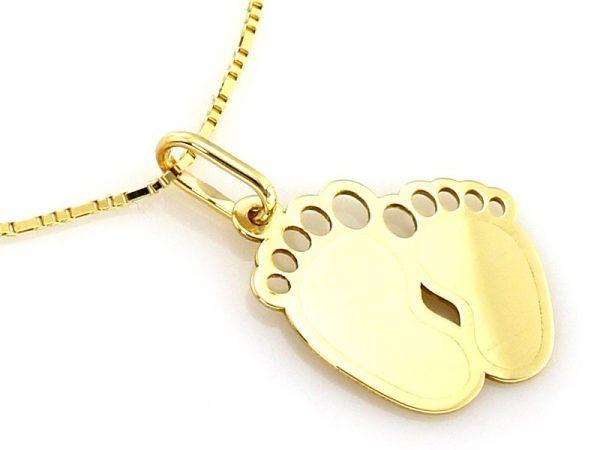 złota zawieszka pr.585