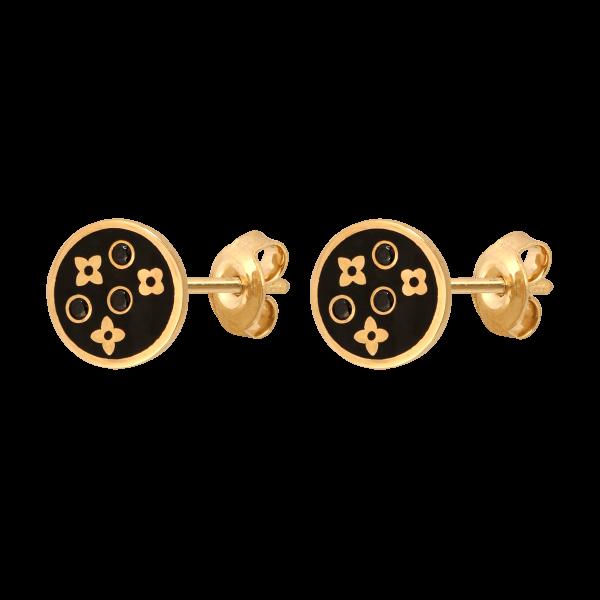Kolczyki złoto pr.585
