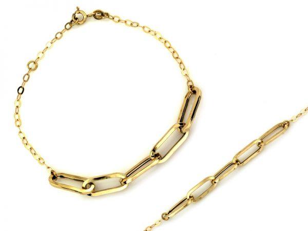 bransoleta, złoto pr.585