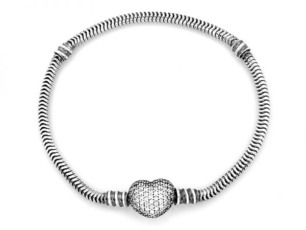 bransoleta, srebro pr.925