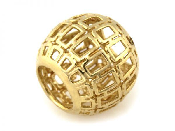 beads, złoto pr.585