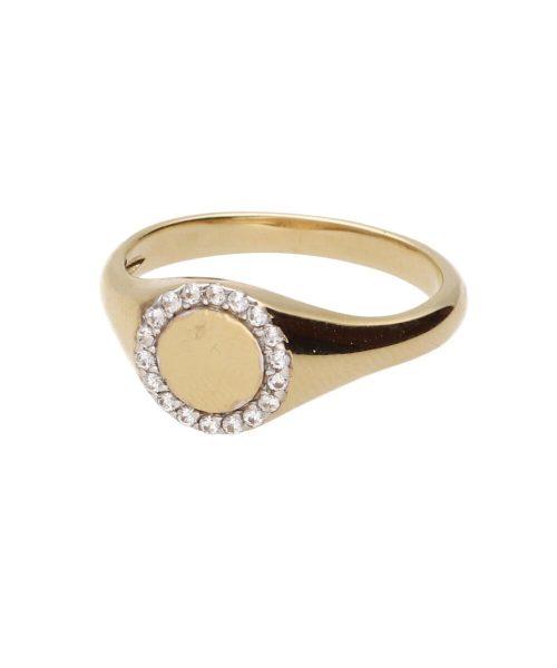 sygnet damski złoto pr.585