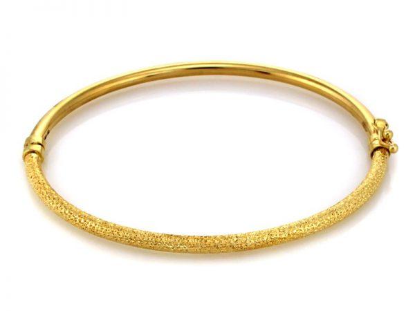 złota bransoletka pr.585