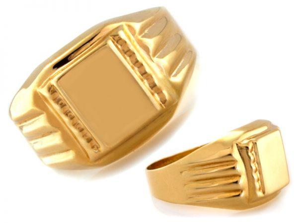 złoty sygnet pr.585